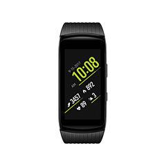 Samsung Gear Fit2 Pro (Large)  Black Smart Watch-Sm-R365nzkaxar