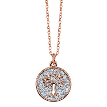 Sparkle Allure Sparkle Allure Sparkle Allure Womens 3/4 CT. T.W. Clear Pendant Necklace