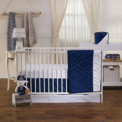 Living Textiles Piper Crib Bedding Set