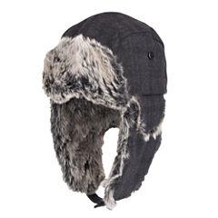 Dockers Fur Lined Trapper Hat