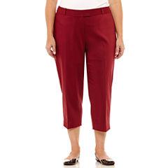 Liz Claiborne Emma Ankle Pants-Plus (27