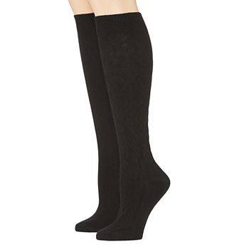 08d98e55d332c Mixit 2 Pair Knee High Socks - Womens