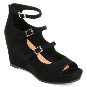 0fb1b3af890 Journee Collection Black Shoe