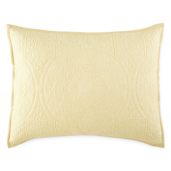 Yellow Decorative Pillows Shams For Bed Bath JCPenney Extraordinary Yellow Decorative Bed Pillows