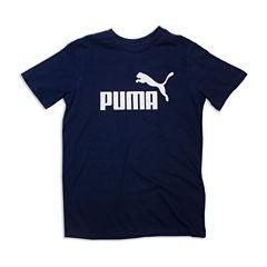 Puma Graphic T-Shirt-Big Kid Boys