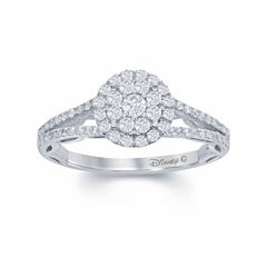 Enchanted by Disney 5/8 C.T. T.W. Diamond 14K White Gold