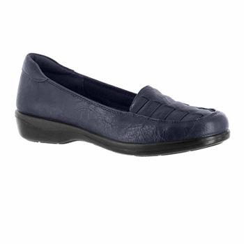 72e49a29b9b Easy Street Womens Genesis Slip-On Shoe Closed Toe