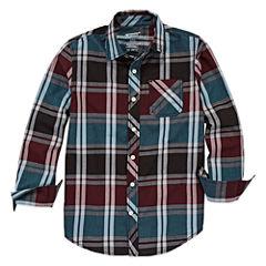 Arizona Long Sleeve Classic Woven- Boys