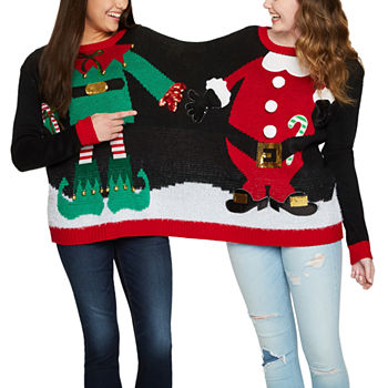 35d7e8926e4d Christmas Sweaters  Ugly   Tacky Xmas Sweaters - JCPenney