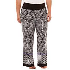 Alyx Knit Pull-On Pants-Plus
