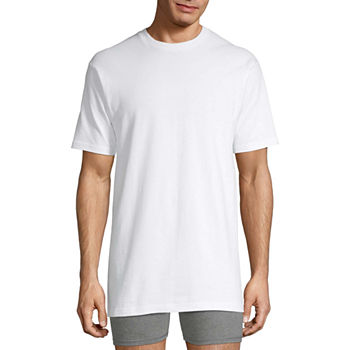 Stafford® 4-pk. Heavyweight Cotton Crewneck T-Shirts