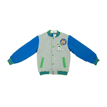 Disney Toy Story 4 Collection Little & Big Boys Varsity Jacket