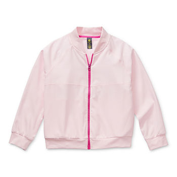 Xersion Little & Big Girls Lightweight Bomber Jacket
