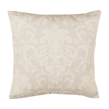 Safavieh Talie Camel Ivory Square Throw Pillow