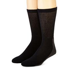 Dickies® 2-pk. Non-Binding Steel Toe Crew Socks