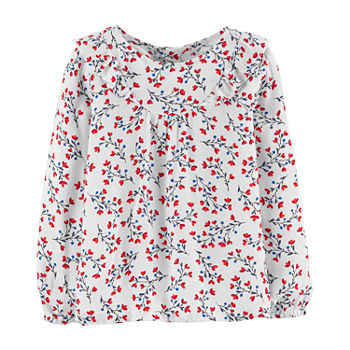 5aa9e5acb Girls Shirts   Tops for Baby - JCPenney