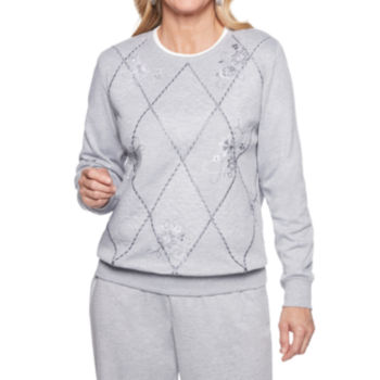 Alfred Dunner Long Sleeve Tops For Women Jcpenney