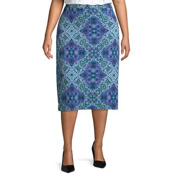 Jcpenney Skirts Size Plus Women For x8I1XAvqw