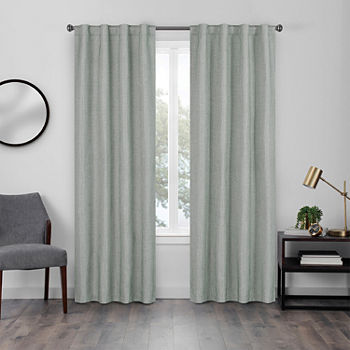 Eclipse Walken Blackout Back-Tab Single Curtain Panel
