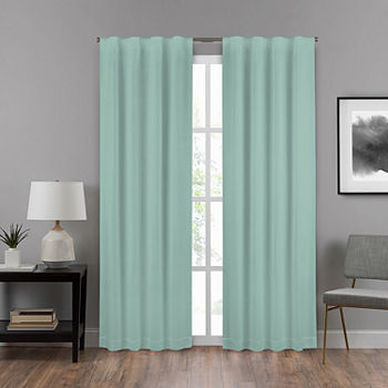 Eclipse Summit Energy Saving Draft Stopper Back-Tab Single Curtain Panel