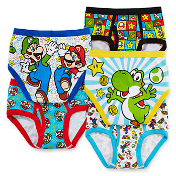 Super Mario Underwear Amp Socks For Kids Jcpenney