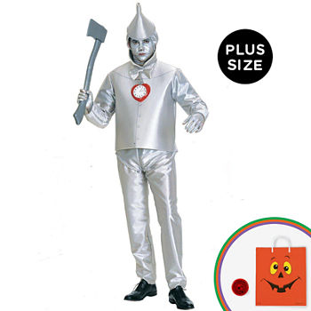The Wizard Of Oz Tin Man Adult Plus Costume Mens Costume Mens Costume