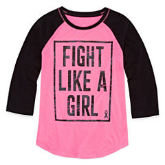 Xersion 3/4 Sleeve Graphic Tee - Girls' 7-16 and Plus