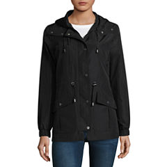 Maralyn And Me Water Resistant Raincoat-Juniors