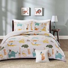 INK+IVY Jacala Cotton 4-pc. Comforter Set