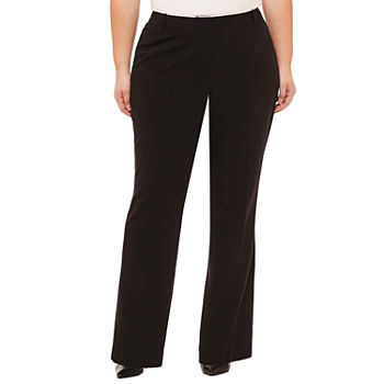 Worthington Womens New Curvy Fit Trouser - Plus