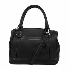 Mundi Rio Leather Satchel