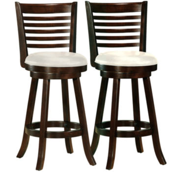 Fresh Blue Bar Stools with Backs
