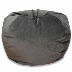 Velvet Bean Bag Chair