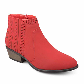 d0f007415164 Women s Red Boots - Shop JCPenney