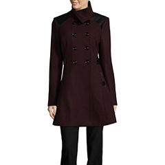 Worthington Midweight Peacoat-Tall