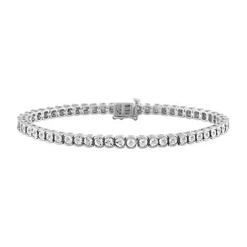 1/2 CT. T.W. Lab Grown Diamond Sterling Silver 7.5 Inch Tennis Bracelet
