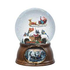 Joseph's Studio Santa's Train Musical Glass Glitterdome