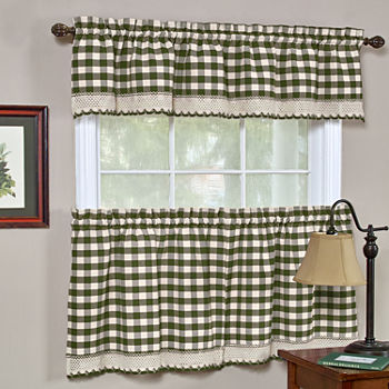 36 Inch Green Curtains Drapes For Window Jcpenney