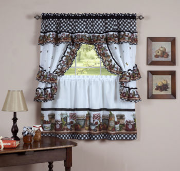 Excellent Kitchen Curtains & Bathroom Curtains - JCPenney IA28