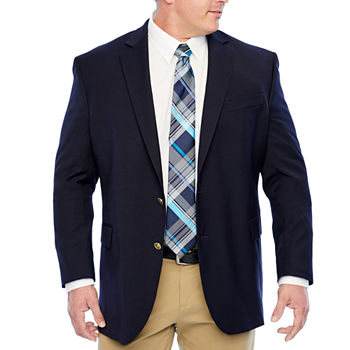 free shipping thoughts on differently Stafford Mens Hopsack Classic Fit Blazer - Big and Tall