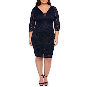 fd645485706d1 Plus Size Dresses Under  20 for Memorial Day Sale - JCPenney