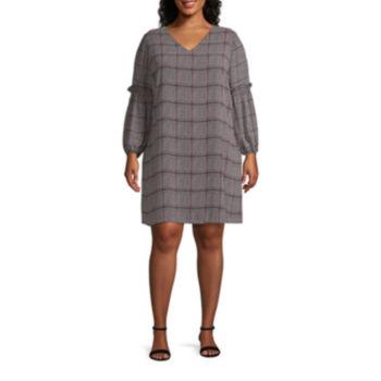 Worthington Plus Size Dresses For Women Jcpenney