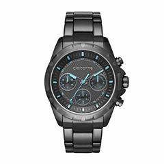 Claiborne Mens Gray Bracelet Watch-Clm1205