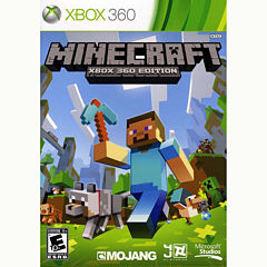 Minecraft Video Game-XBox 360