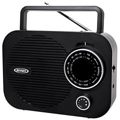 Jensen MR-550-BK Portable AM/FM Radio Black