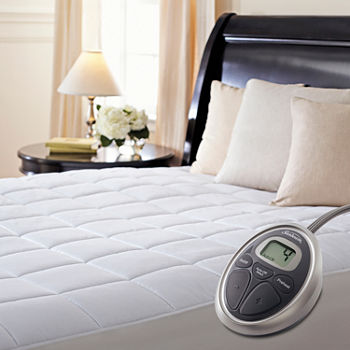 jcpenney heated mattress pad Sunbeam Heated Mattress Pads Mattress Pads & Toppers for Bed  jcpenney heated mattress pad