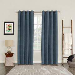 Sun Zero Tayden Blackout Grommet-Top Curtain Panel