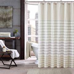 INK+IVY Sutton Cotton Shower Curtain