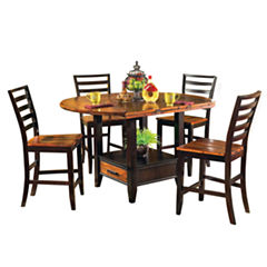 Steve Silver Co Abilene 5-pc. Drop Leaf Dining Set