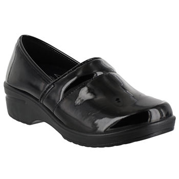 Easy Works By Easy Street Womens Lyndee Clogs